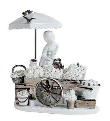 Flowers Of The Season (re-deco) Lladro Figurine