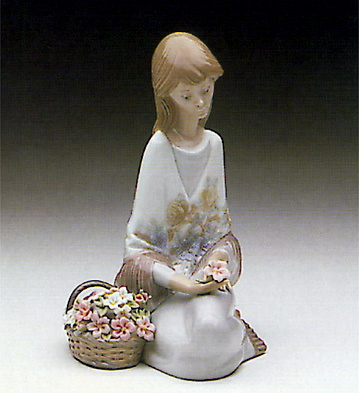 Flowers Song Lladro Figurine
