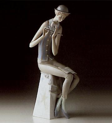 Flute Player Lladro Figurine