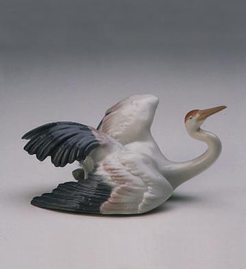 Fluttering Crane Lladro Figurine