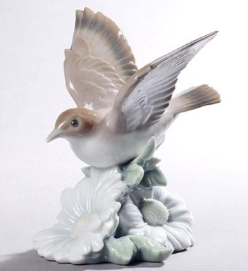 Fluttering Nightingale Lladro Figurine