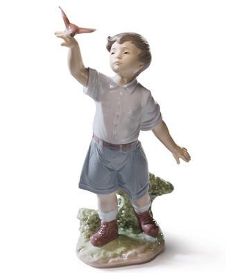 Flying Free! Lladro Figurine