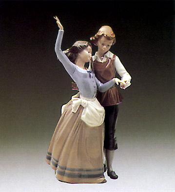 Folk Dancing Lladro Figurine