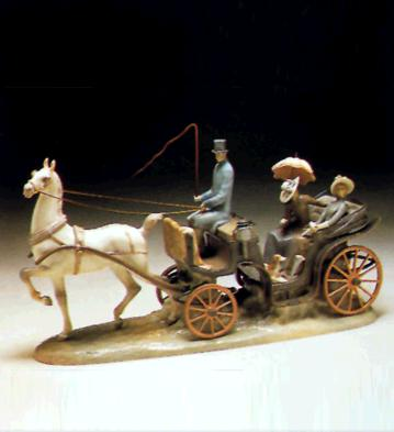 For A Ride (l.e.) Lladro Figurine