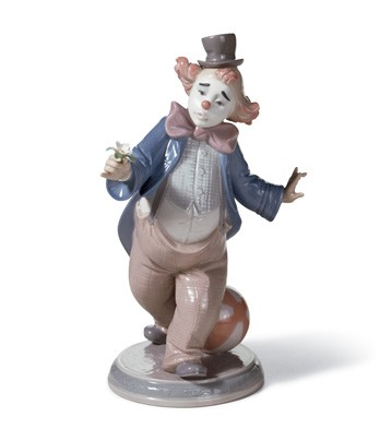 For A Smile Lladro Figurine