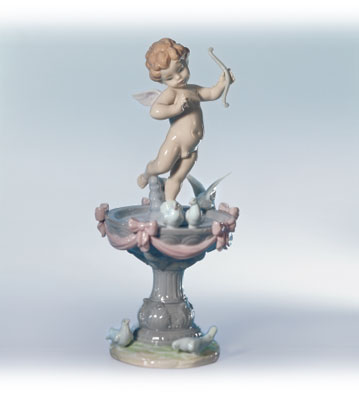 Fountain Of Love Lladro Figurine