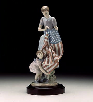 Fourth Of July Lladro Figurine
