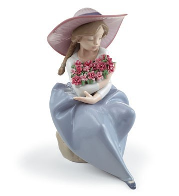 Fragrant Bouquet (carnations) Lladro Figurine