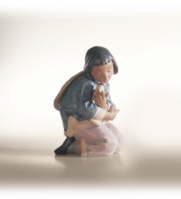 Friendly Sparrow Lladro Figurine