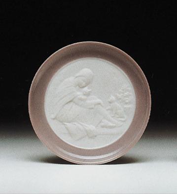 Friends (plate) Lladro Figurine
