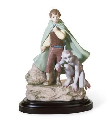 Frodo & Gollum Lladro Figurine