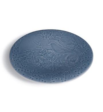 Garden Aperitif Saucer (blue) Lladro Figurine