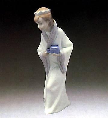Gaspar King Lladro Figurine