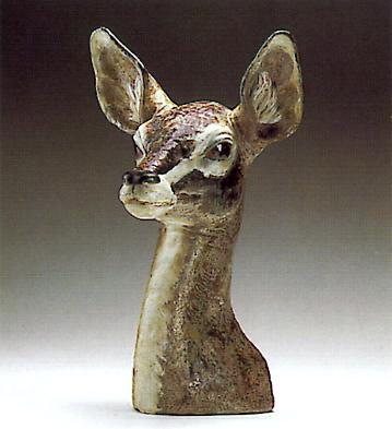 Gazelle Bust Lladro Figurine