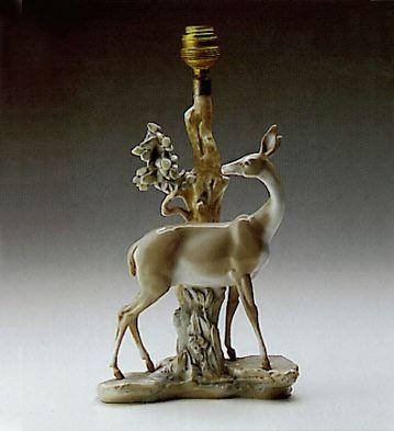 Gazelle Lamp Lladro Figurine