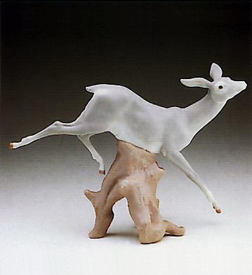 Gazelle Landing Lladro Figurine
