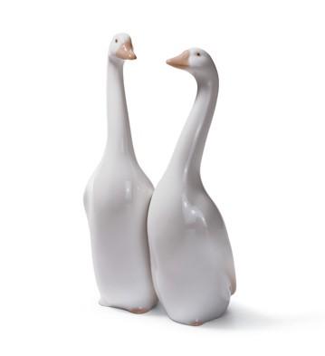 Geese Lladro Figurine
