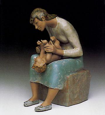 Gentle Play Lladro Figurine