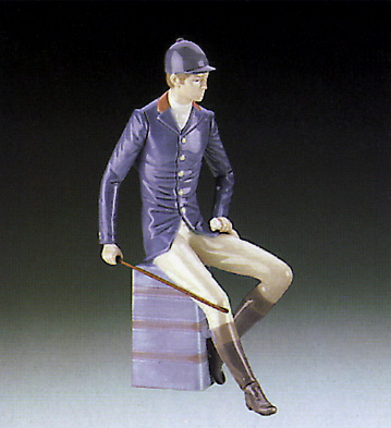 Gentleman Equestrian Lladro Figurine