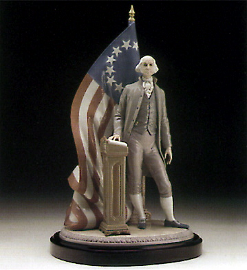 George Washington Lladro Figurine