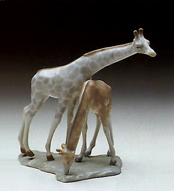 Giraffe Group Lladro Figurine