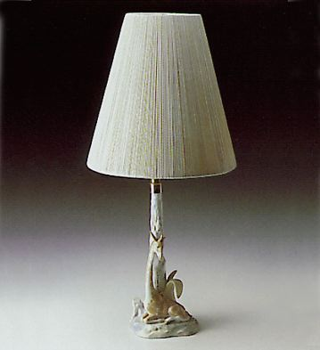 Giraffe Lying Lamp Lladro Figurine