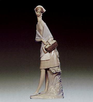 Girl Lladro Figurine