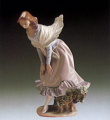 Girl Bending Lladro Figurine