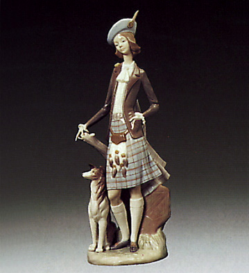 Girl From Scotland Lladro Figurine