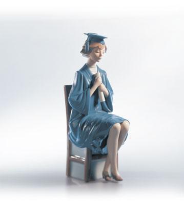Girl Graduate Lladro Figurine