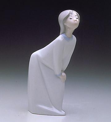 Girl Kissing Lladro Figurine