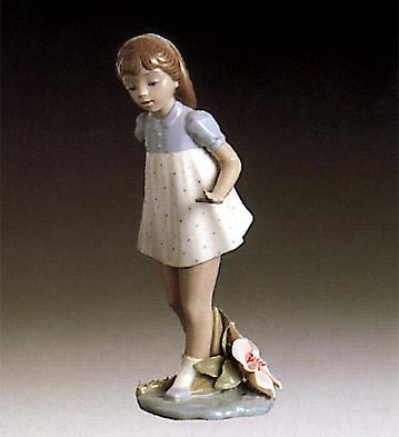 Girl Walking Lladro Figurine