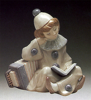 Girl With Accordion Lladro Figurine
