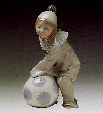 Girl With Ball Lladro Figurine
