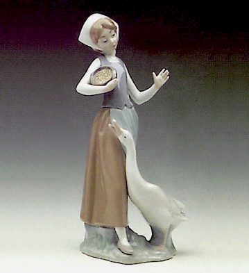 Girl With Duck Lladro Figurine
