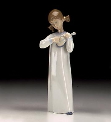 Girl With Guitar Lladro Figurine