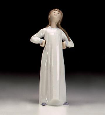 Girl With Hands Akimbo Lladro Figurine
