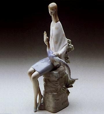 Girl With Pheasant Lladro Figurine