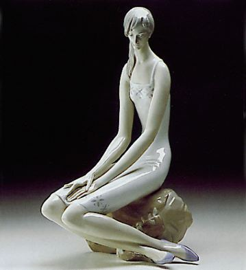 Girl With Pigtails Lladro Figurine