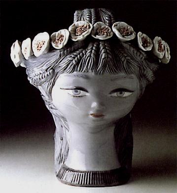 Girl's Head Lladro Figurine