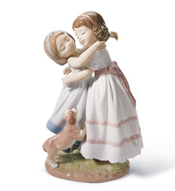 Give Me A Hug! Lladro Figurine