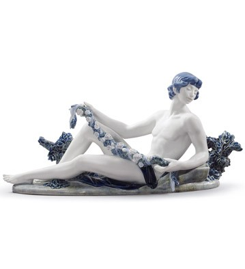 God Apollo Lladro Figurine