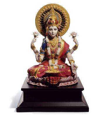 Goddess Lakshmi Lladro Figurine