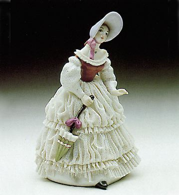 Going For A Walk Lladro Figurine
