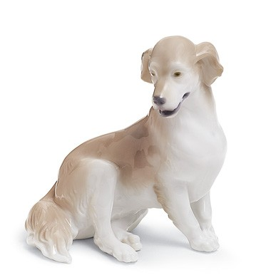 Golden Retriever Lladro Figurine