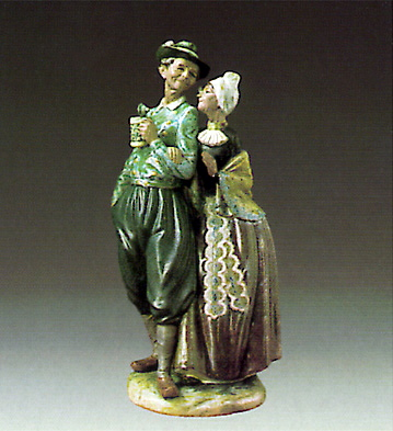 Golden Wedding Lladro Figurine