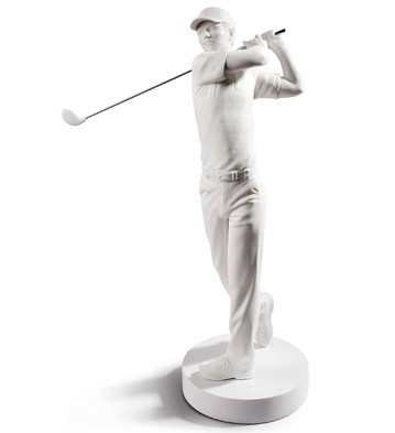 Golf Champion Lladro Figurine