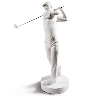 Golf Champion Lladro Figurine
