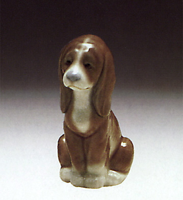 Good Puppy Lladro Figurine