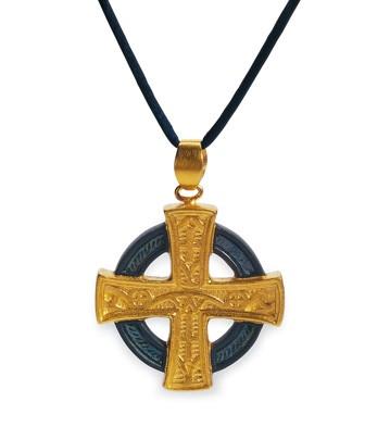 Gothic Cross (gold) Lladro Figurine